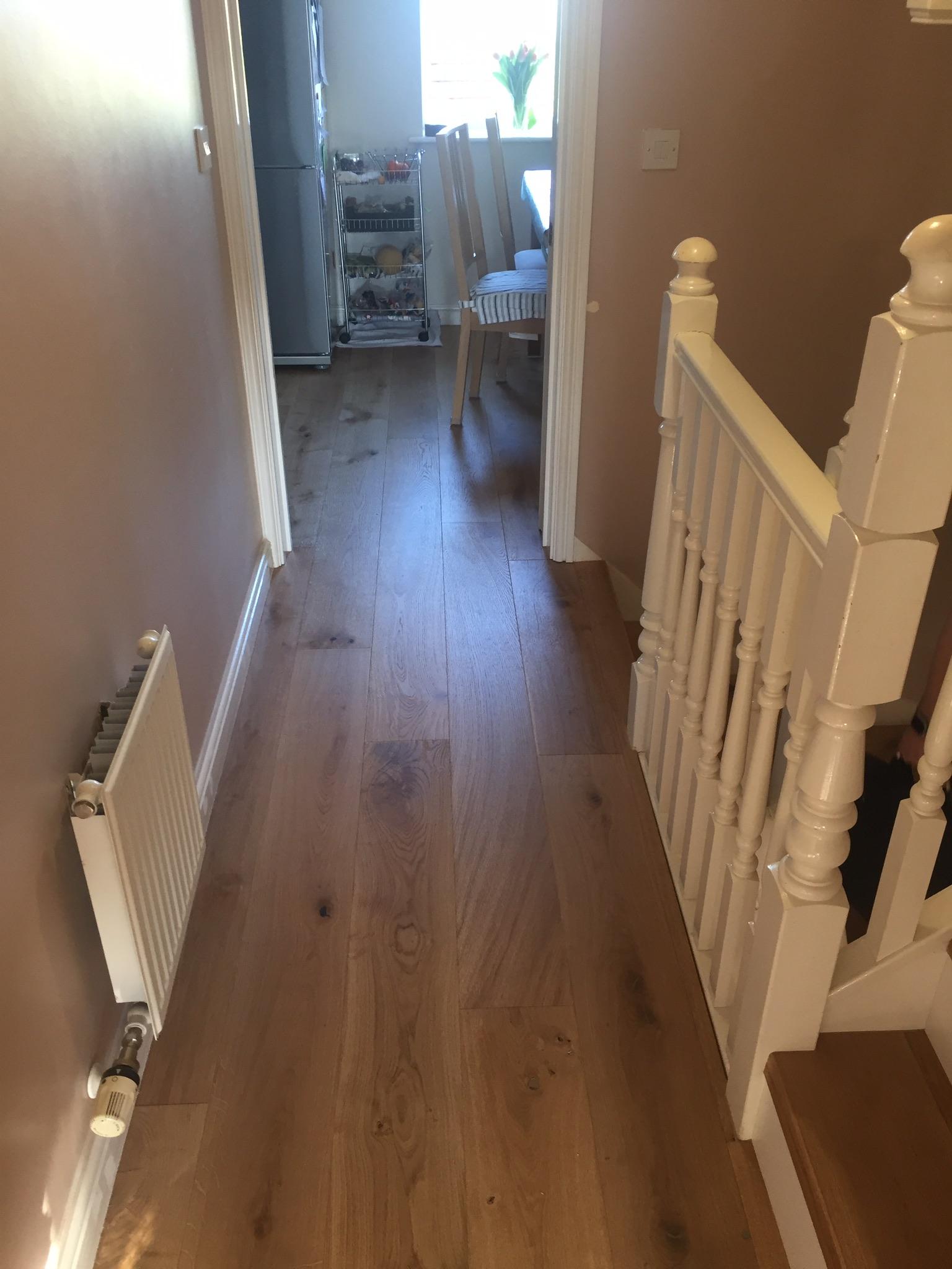 Engineered Real Wood Flooring In Northampton Abstract